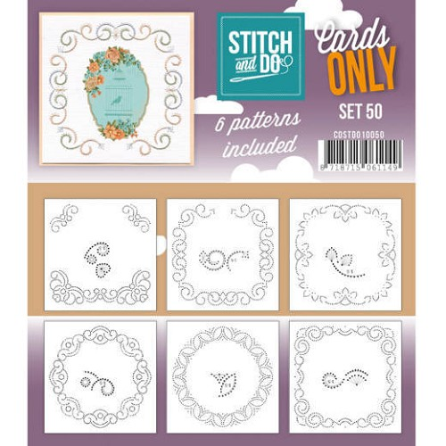 Stitch and Do Cards Only - set 50