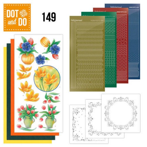 Dot & Do Hobbydots Pakket - bouquet of flowers