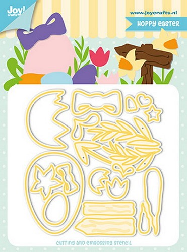 Joy Stencil - Jocelijne - Hoppy Easter