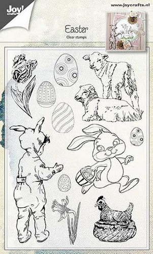 Joy Clearstamps - Easter