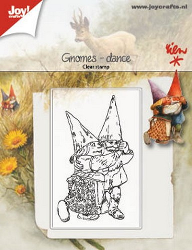 Joy Clearstamp - Rien Poortvliet - gnomes dance