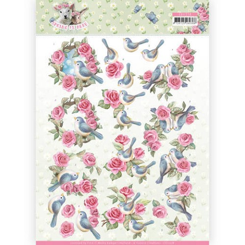 Knipvel Amy Design - Spring is Here CD11278