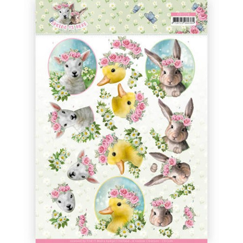 Knipvel Amy Design - Spring is Here CD11276