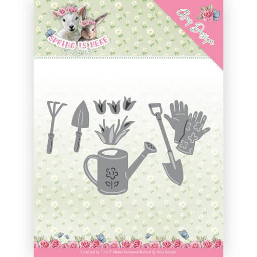 Amy Design Stans - Spring is Here - garden tools