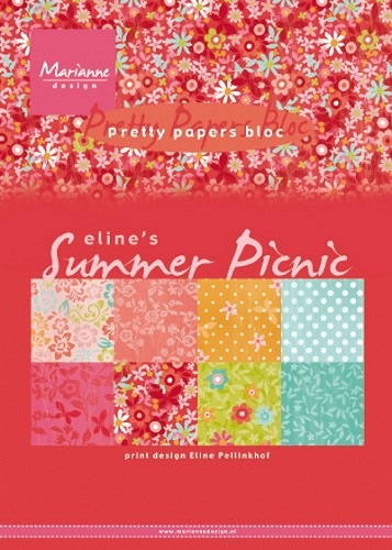 Pretty Papers Bloc - Eline`s Summer Picnic