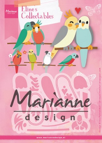 Collectables Marianne Design - Eline`s birds