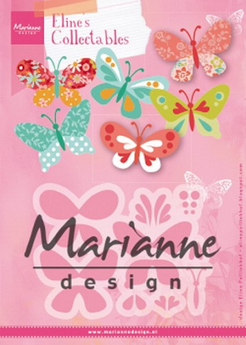 Collectables Marianne Design - Eline`s butterflies