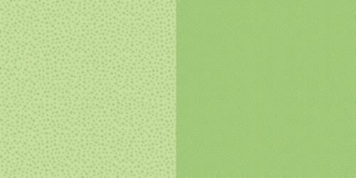 Scrappapier Dini Design - Dots/Flowers - lime green