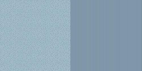 Scrappapier Dini Design - Stripe/Star - swedish blue