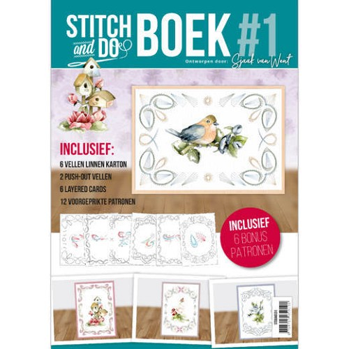 Stitch and Do Boek nr. 1