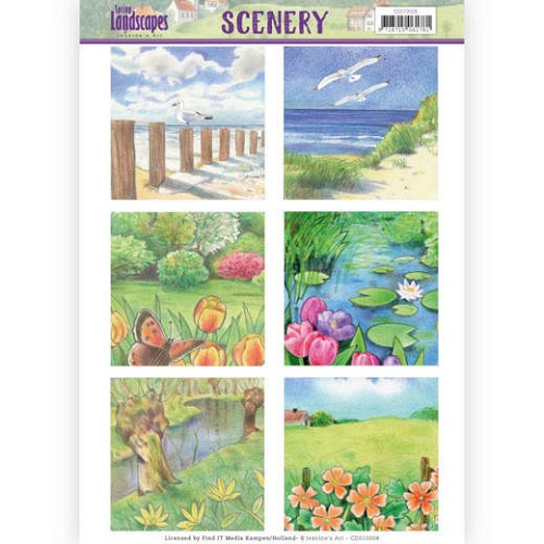 Stansvel Jeanine`s Art - Scenery - Spring Landscapes CDS10008