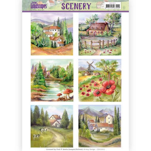 Stansvel Amy Design - Scenery - Spring Landscapes CDS10011