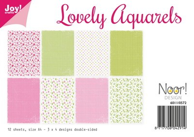 Joy Paper Pack - Lovely Aquarels