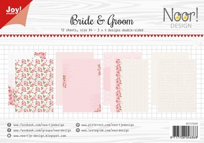 Joy Paper Pack - Bride & Groom