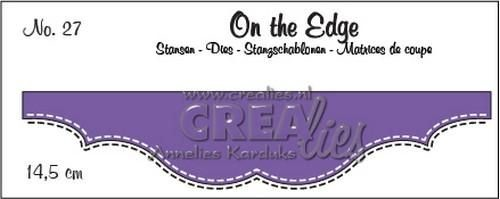 Crealies Stans - On the Edge Double Stitch nr. 27