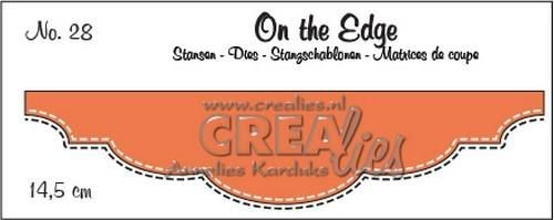 Crealies Stans - On the Edge Double Stitch nr. 28
