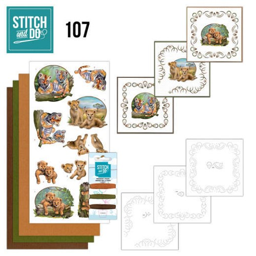 Stitch and Do Pakket - wild animals