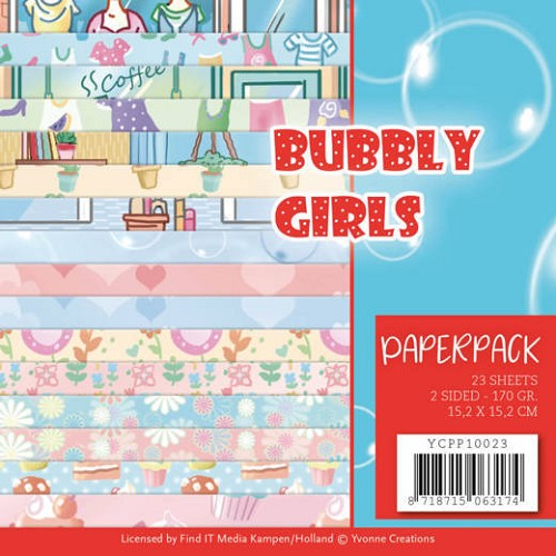 Paper Pack Yvonne Creations - Bubbly Girls