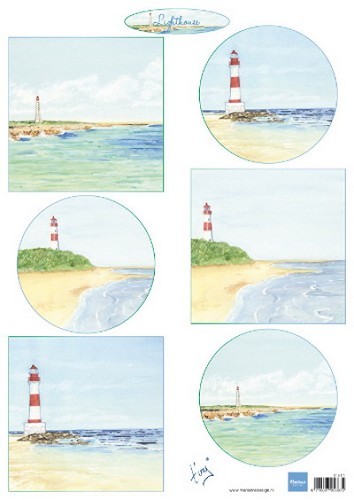 Knipvel Marianne Design - Tiny`s Lighthouse