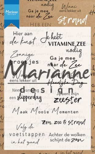 Clearstamps Marianne Design - Strand