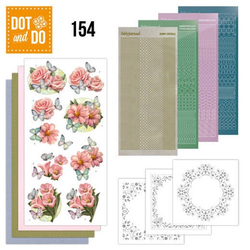 Dot & Do Hobbydots Pakket - pink flowers