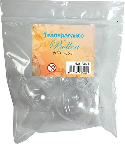 Joy Crafts Transparante Bollen