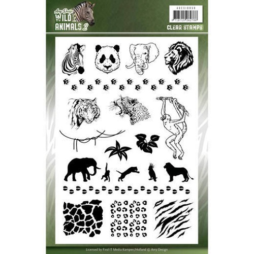 Clearstamps Amy Design - Wild Animals 2