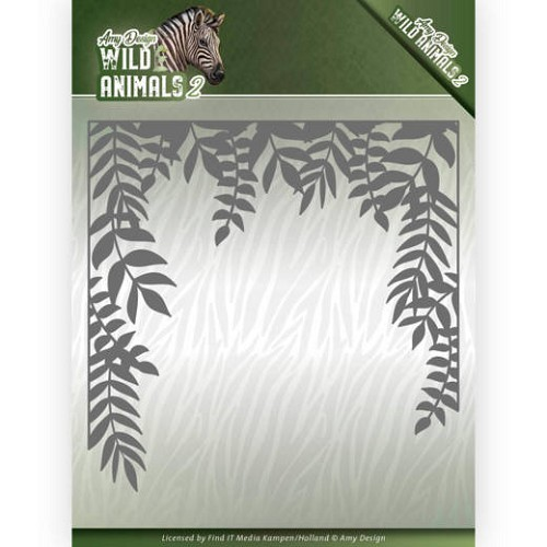 Amy Design Stans - Wild Animals 2 - jungle frame
