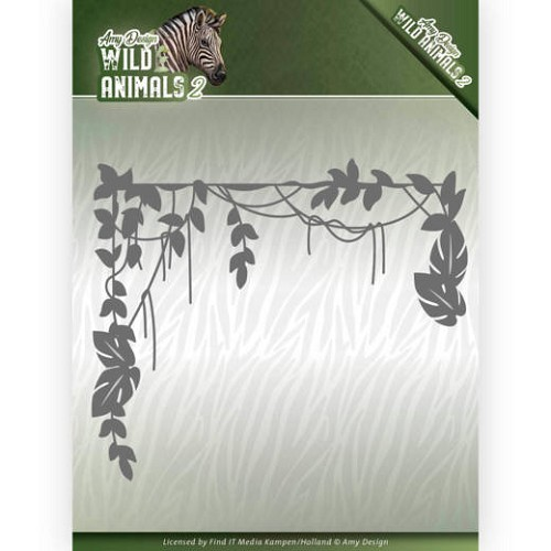 Amy Design Stans - Wild Animals 2 - jungle branch
