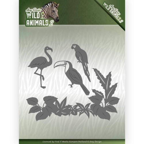 Amy Design Stans - Wild Animals 2 - tropical birds