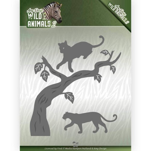 Amy Design Stans - Wild Animals 2 - panther