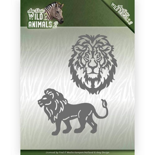 Amy Design Stans - Wild Animals 2 - lion