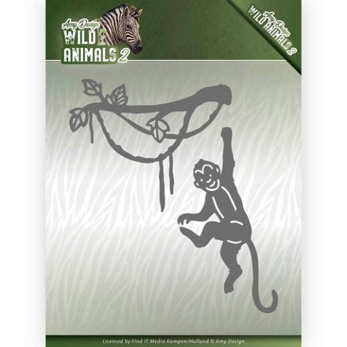 Amy Design Stans - Wild Animals 2 - spider monkey