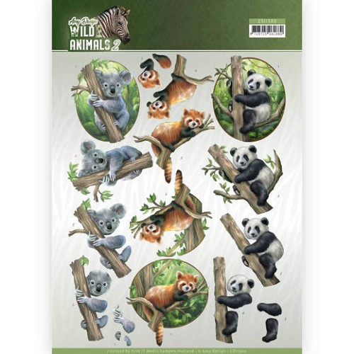 Knipvel Amy Design - Wild Animals 2 - CD11300