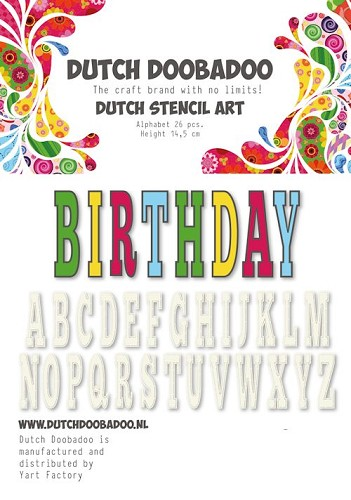 Dutch Doobadoo Alphabet 5
