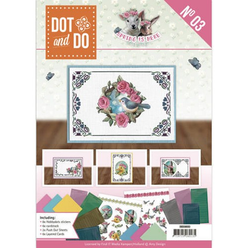 Dot & Do Boek no. 3 - Spring is Here