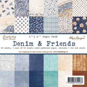 Paper Pad Maja Design - Denim & Friends