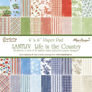 Paper Pad Maja Design - Life in the Country