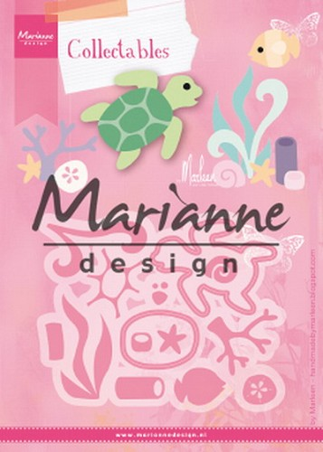 Collectables Marianne Design - Sealife by Marleen