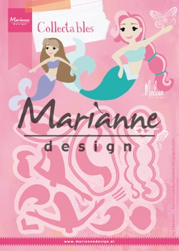 Collectables Marianne Design - Mermaids by Marleen