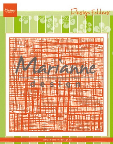Embossing Folder Marianne Design - linnen