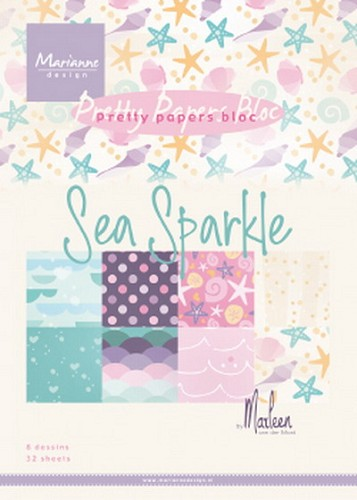 Pretty Papers Bloc - Sea Sparkle