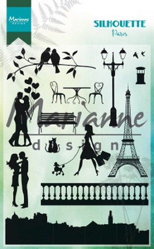 Clearstamps Marianne Design - Silhouette - Paris