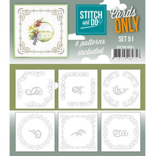 Stitch and Do Cards Only - set 51