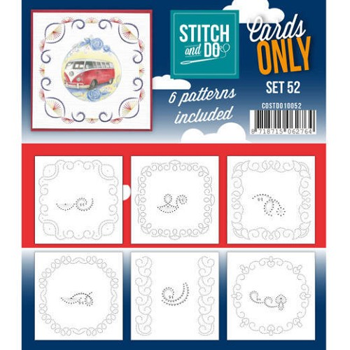 Stitch and Do Cards Only - set 52