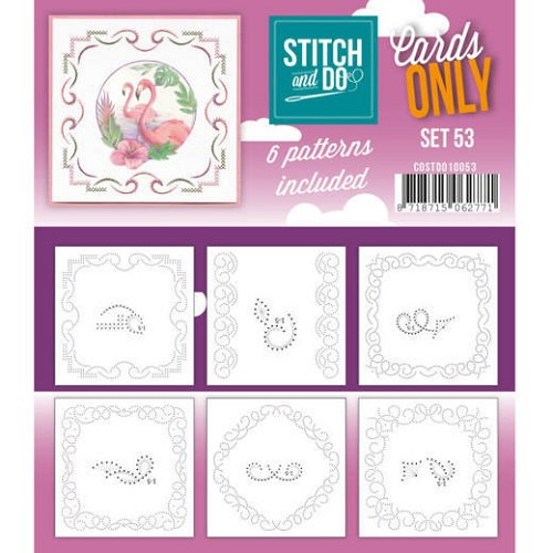 Stitch and Do Cards Only - set 53