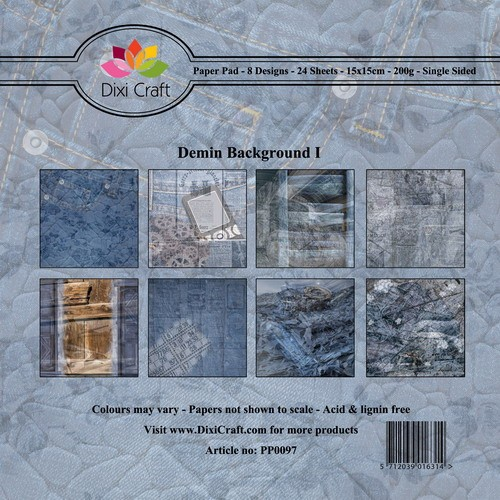 Paper Pad Dixi Craft - Denim Background I