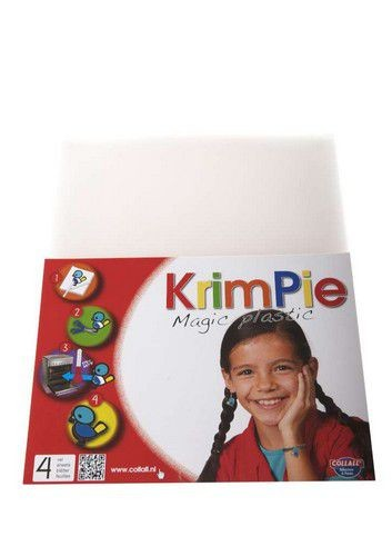 Collall Krimpie Magic Plastic - transparant