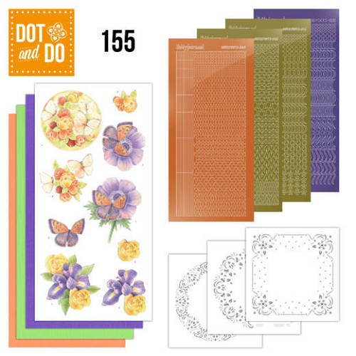 Dot & Do Hobbydots Pakket - delightful flowers
