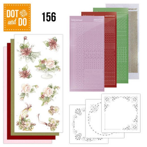 Dot & Do Hobbydots Pakket - sweet summer flowers
